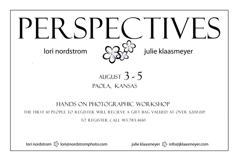 PERSPECTIVES workshop date change update