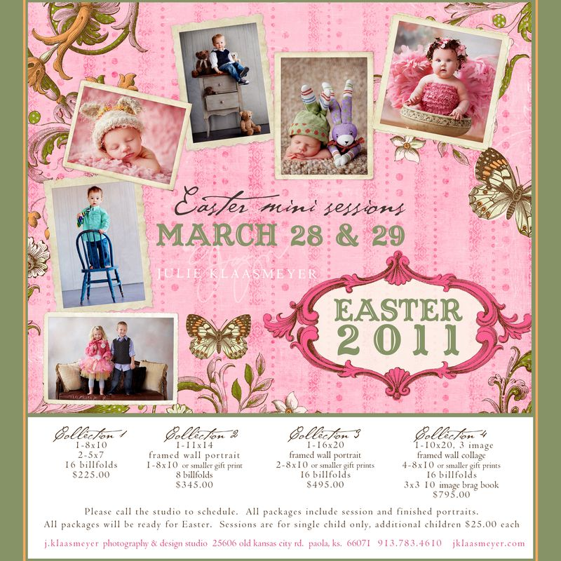 Mini sessions are back for Spring at j.klaasmeyer!